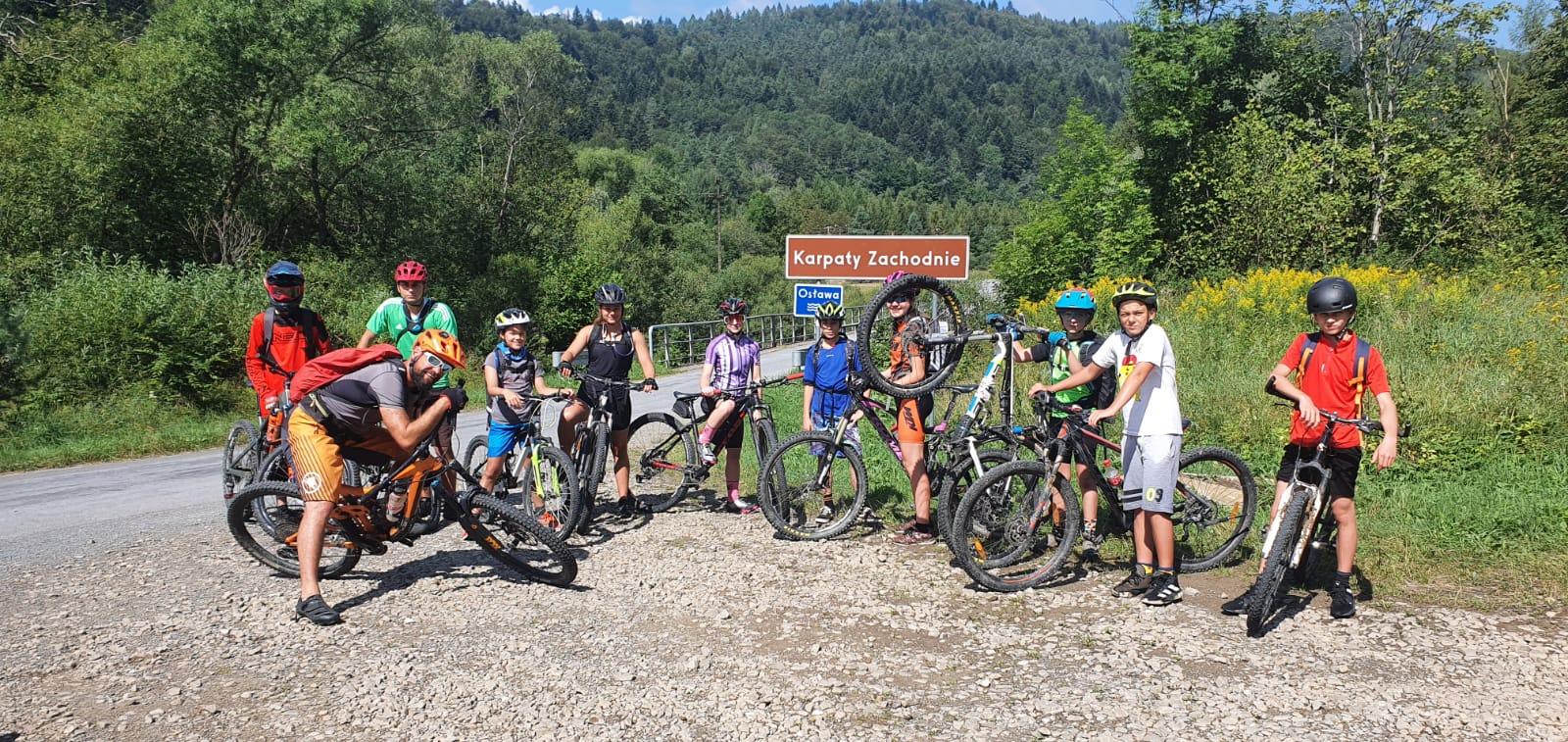 Bieszczady – Obóz rowerowy